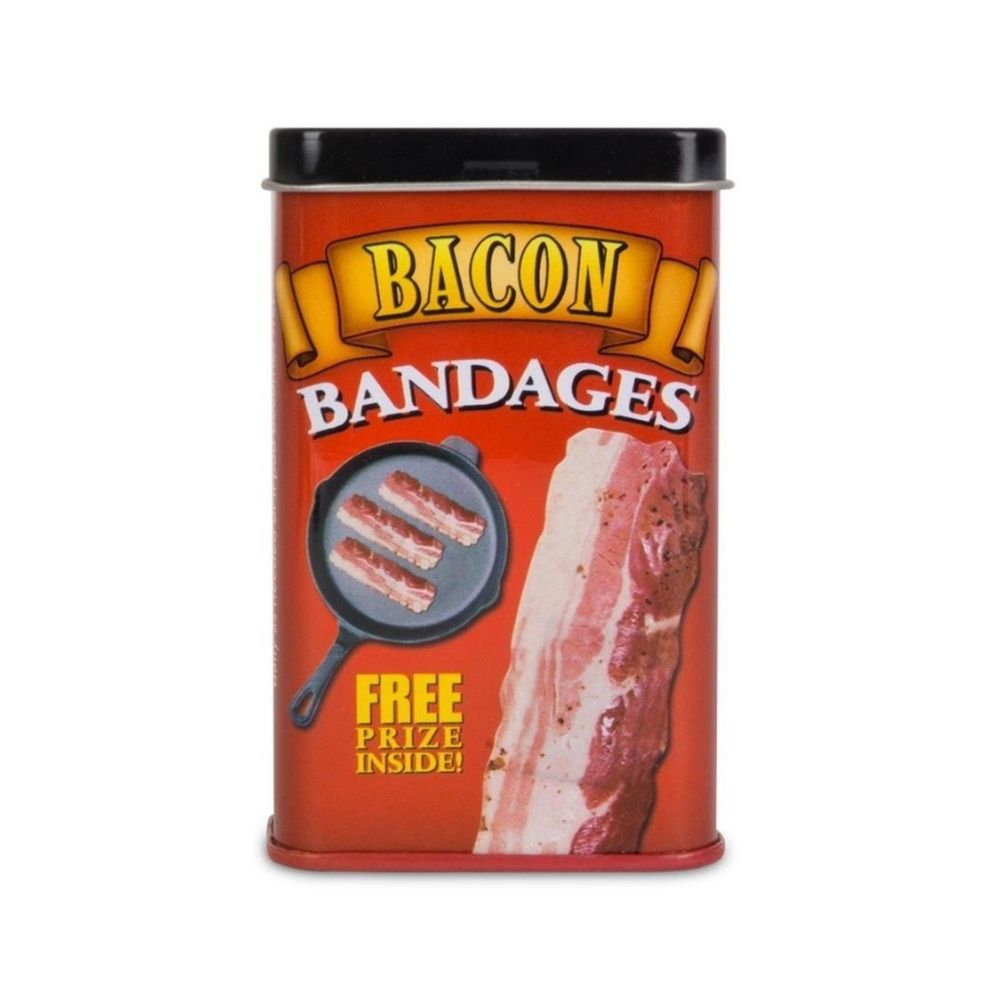 Bacon Bandages Novelty Fun from Funky Gifts NZ