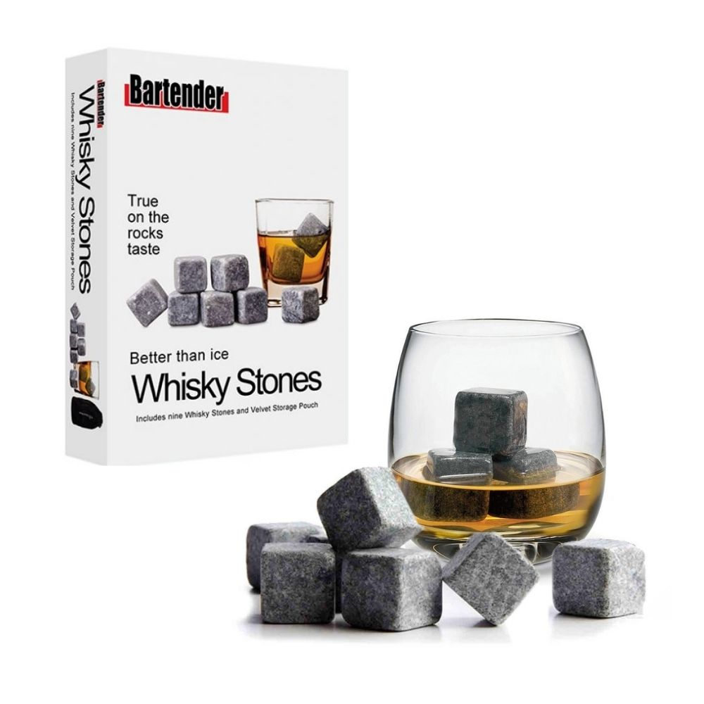 whisky stones from funky gifts nz