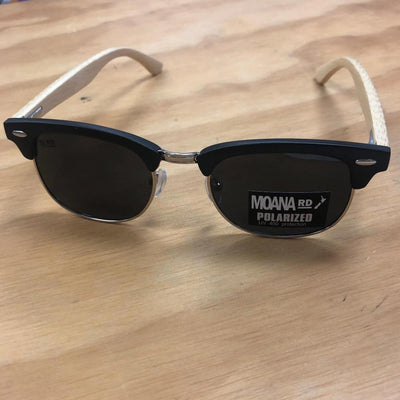 Moana Road Forsyth Sunnies- Black with Black Lense #473