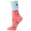 Blue Q Womens Crew Socks I heard you and I dont care Funky Gifts NZ