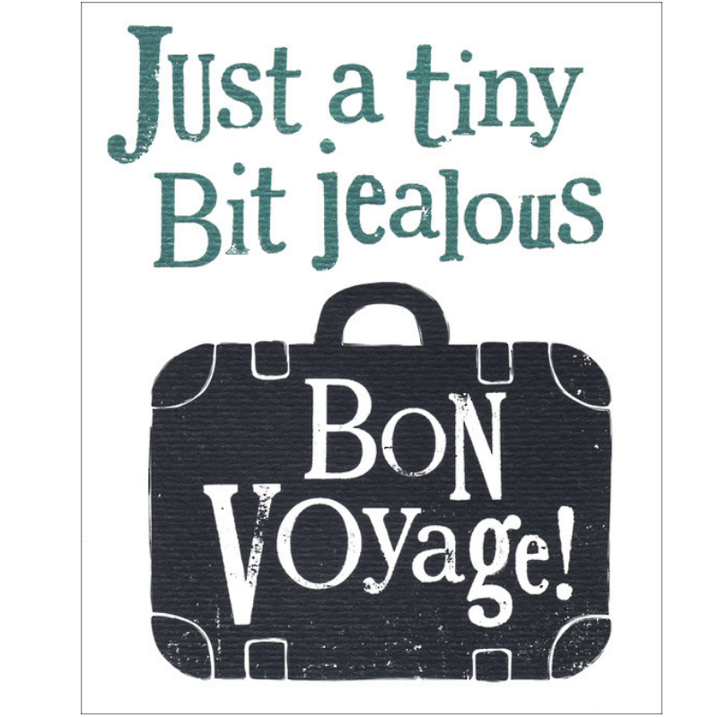 Brightside Greeting Card - Bon Voyage!