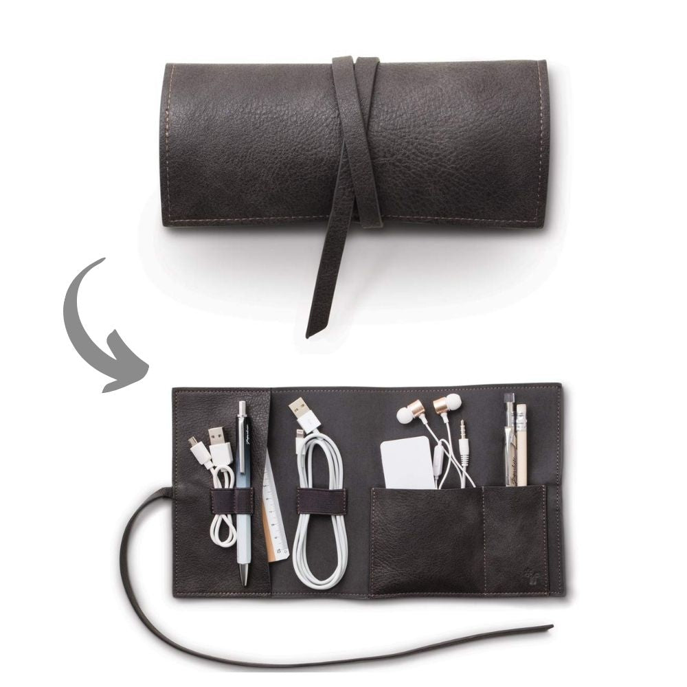 Bookaroo Travel Tech Tidy Black from Funky Gifts NZ
