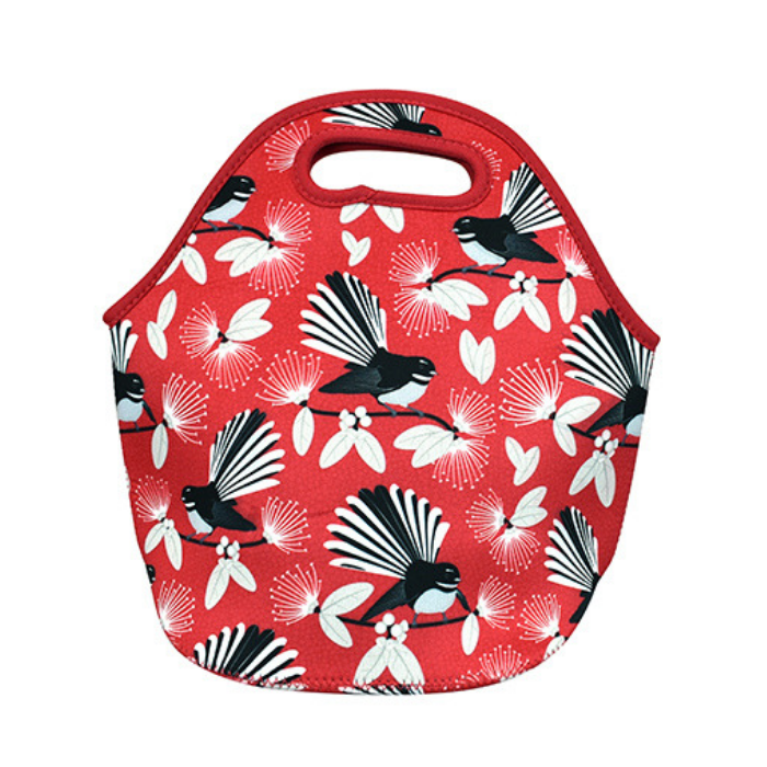 Carry All Bag Flirting Fantails Red