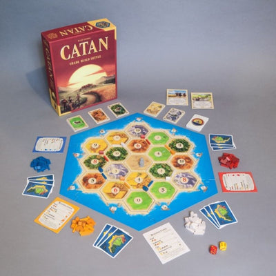Settlers of Catan Game from funky gifts nz