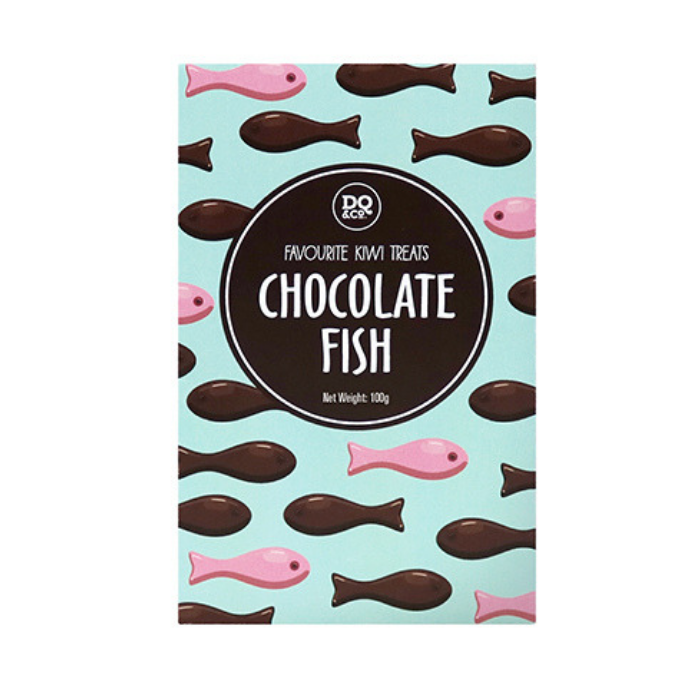 Chocolate Fish - Kiwiana Lollies