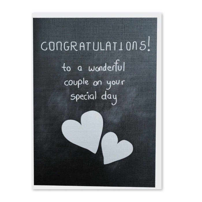 Greeting Card - Congratulations On Your Special Day