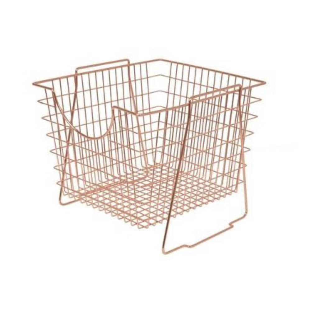Copper Stackable Basket