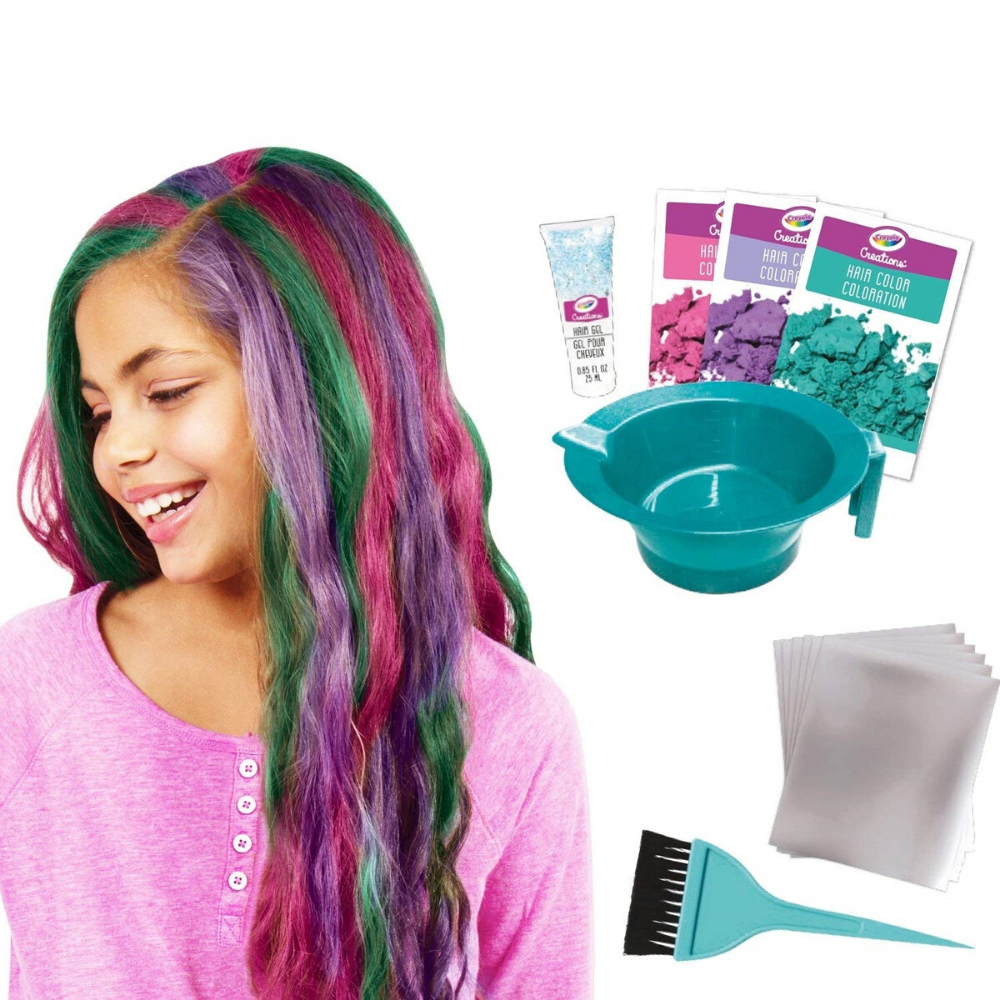 Crayola Creations Hair Salon Set Funky Gifts NZ
