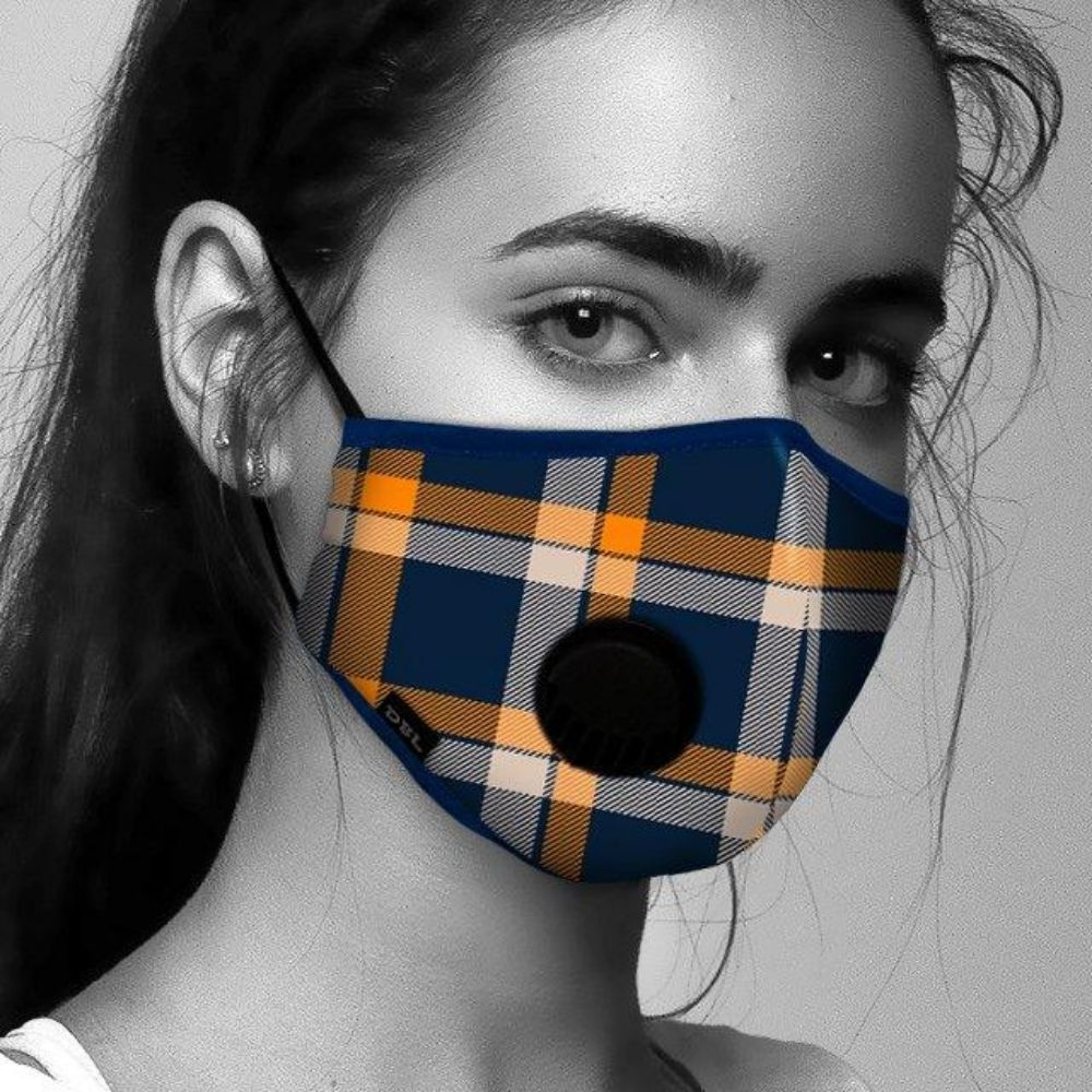 Face Mask Tartan Design from Funky Gifts NZ