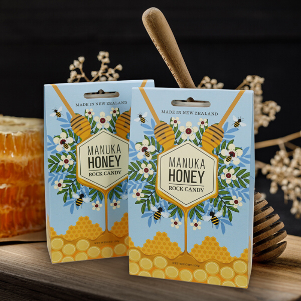 manuka honey rock candy from funky gifts nz