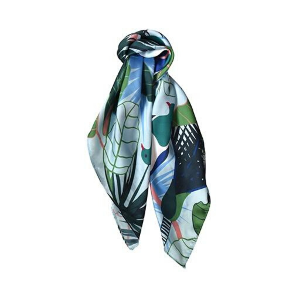 Designer Kiwiana Scarf - Bird Song