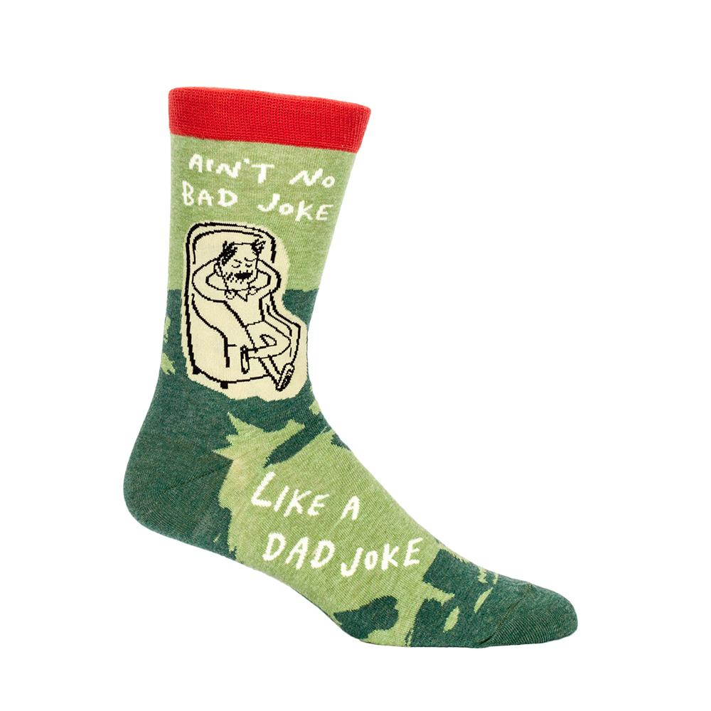 Blue Q Socks – Men's Crew – Dad Jokes