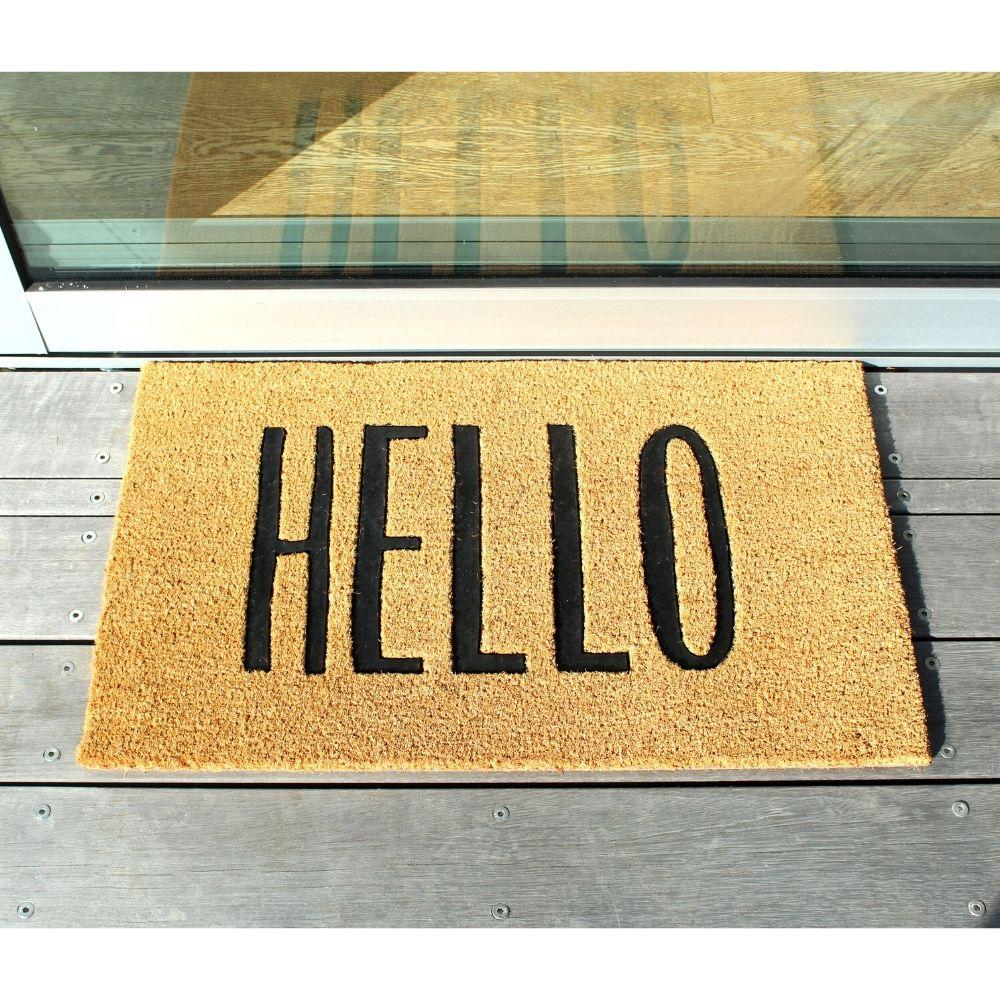 Door Mat - Hello
