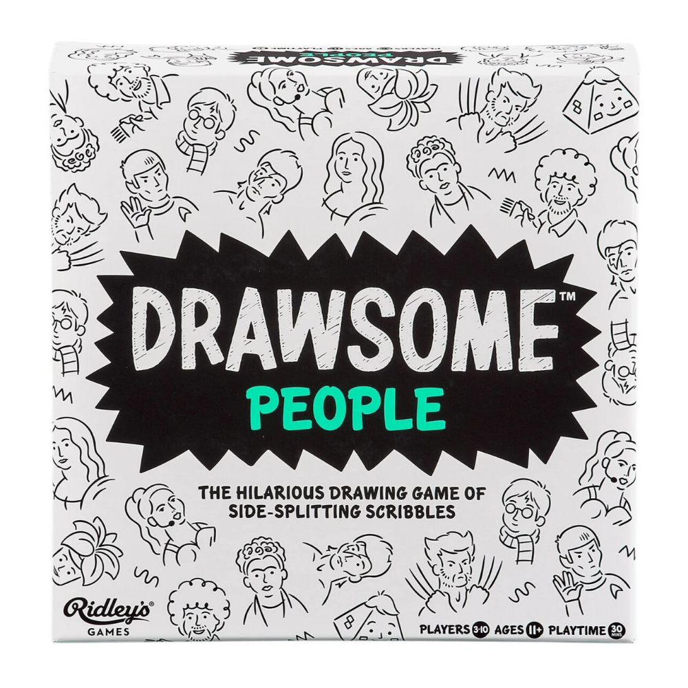 Drawsome People drawing game by Ridley's Games from Funky Gifts NZ