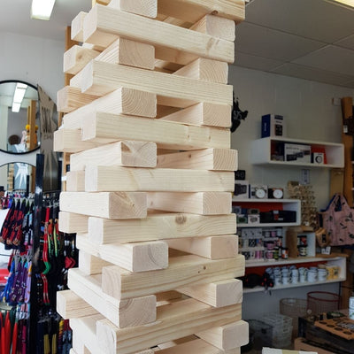 Giant Jenga Standard Size from Funky Gifts NZ