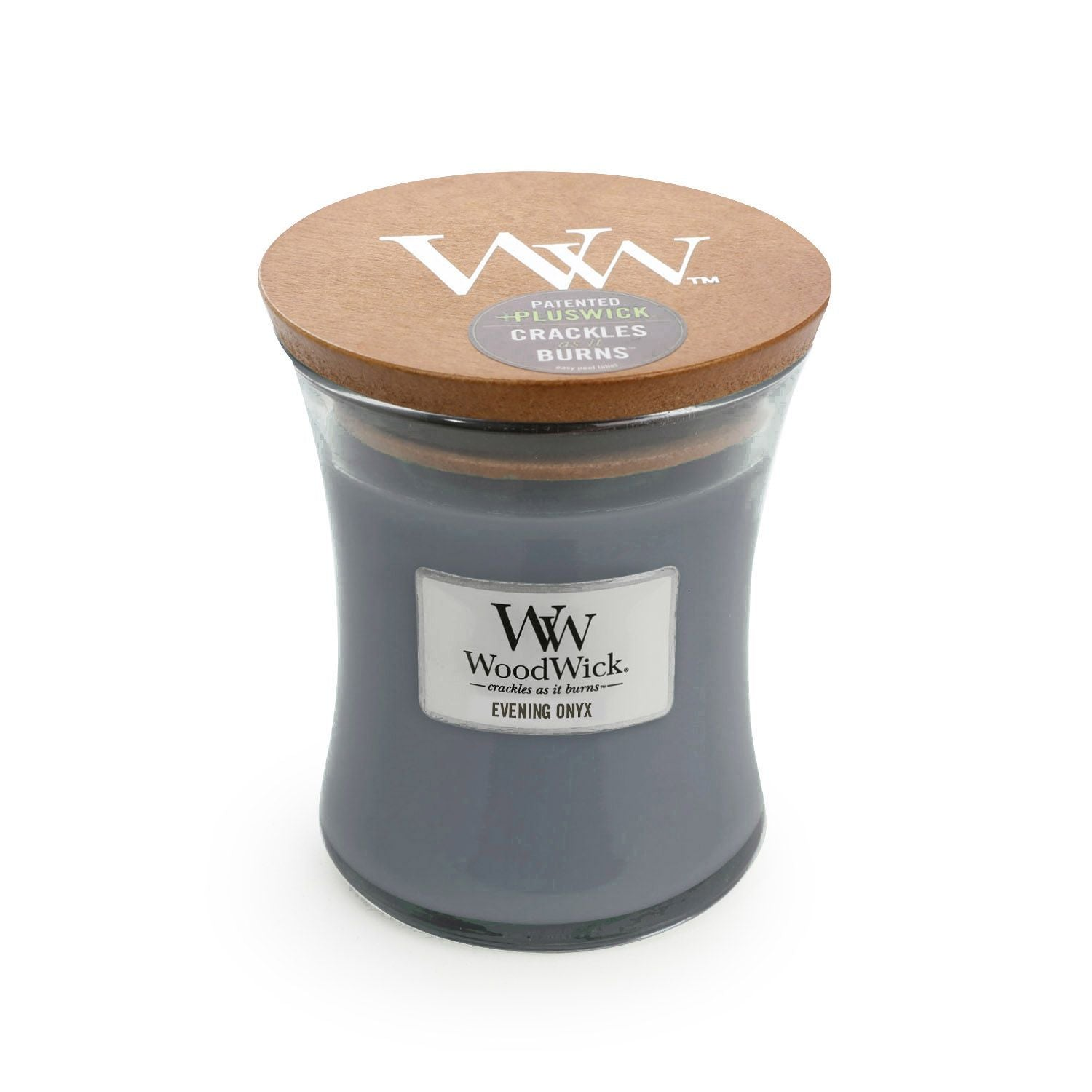 Medium Evening Onyx Scented WoodWick Soy Candle