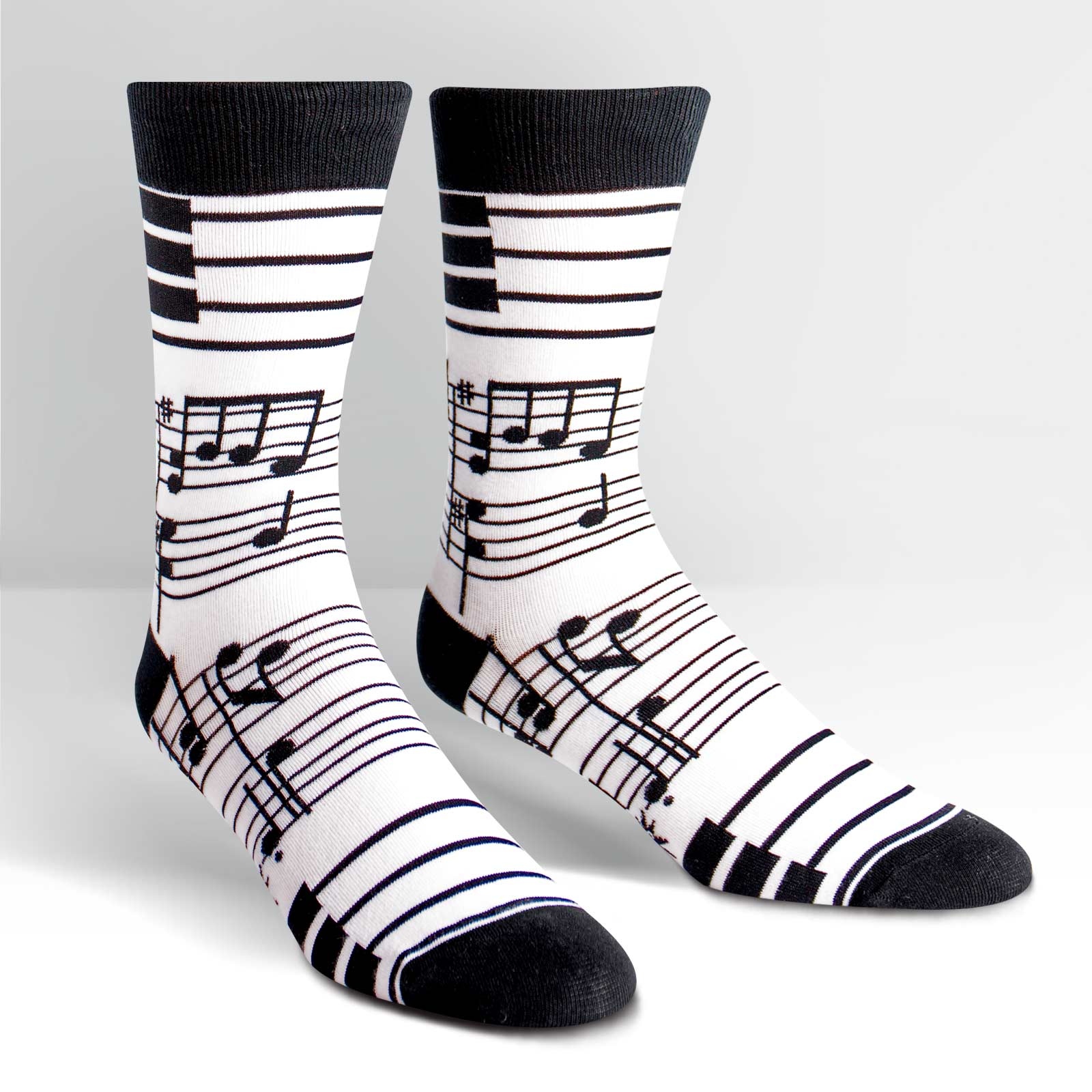 Sock It To Me Socks - Men's Crew - Footnotes