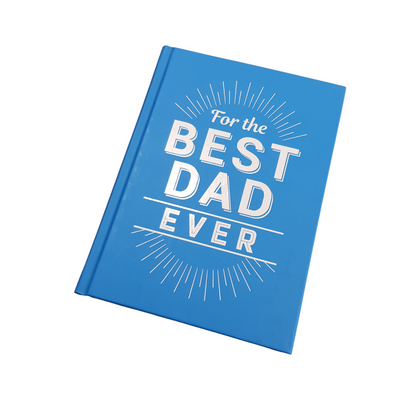For the best dad ever gift book from funky gifts NZ