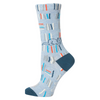 Blue Q Socks – Women's Crew – F*ck Off I'm Reading