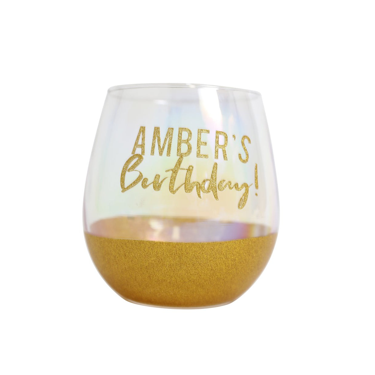 DIY Celebration Glass Gold
