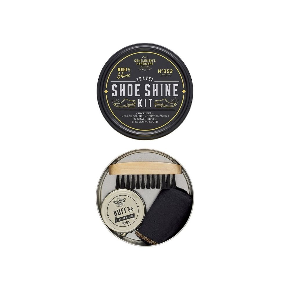 Gents Hardware Travel Shoe Shine Kit from Funky Gifts NZ