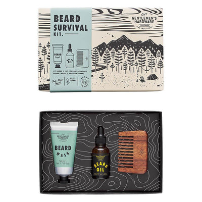 Gents Hardware - Beard Survival Kit
