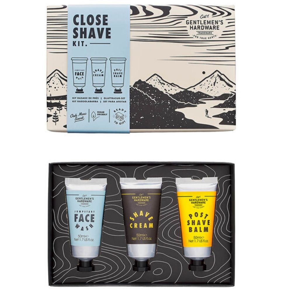 Gents Hardware - Close Shave Kit