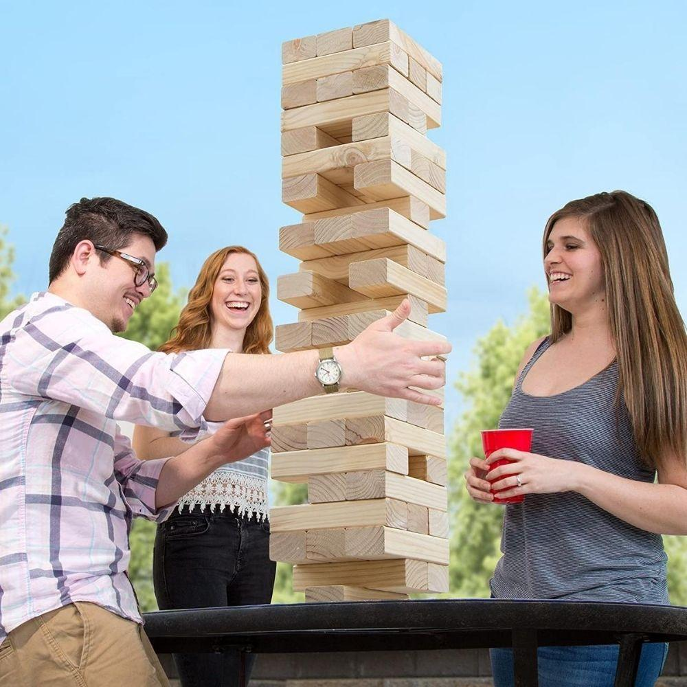 Giant Jenga Game from Funky Gifts NZ