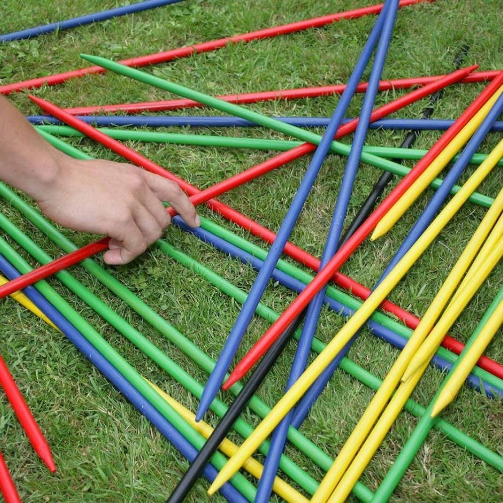 Wooden Outdoor Game - GIANT Pick Up Sticks