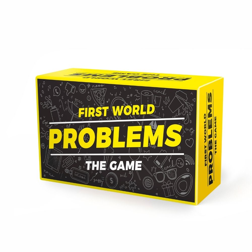 First World Problems The Game from Funky Gifts NZ