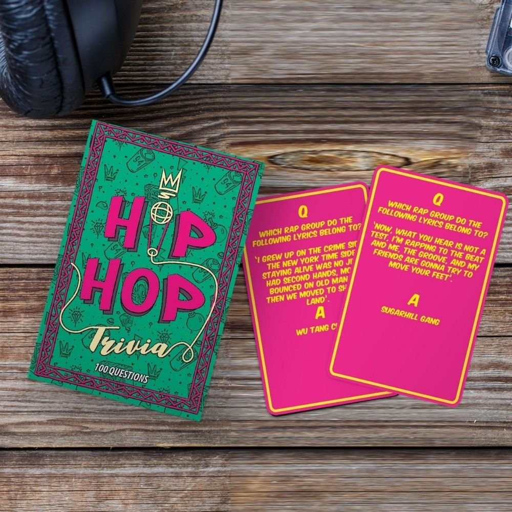 Hip Hop Trivia Game from FUnky Gifts NZ