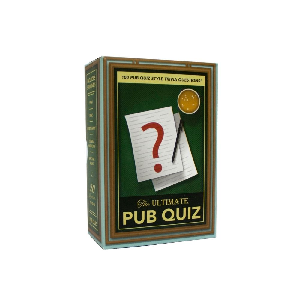 The Ultimate Pub Trivia Quiz Game from Funky Gifts NZ