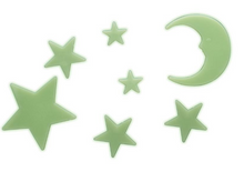 Glow In The Dark Stars And Moons