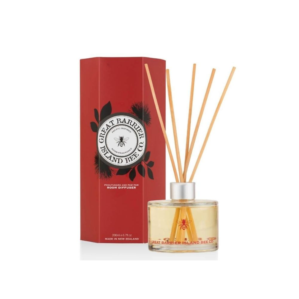 GBI Room Diffuser Pohutukawa paw Paw From Funky Gifts NZ