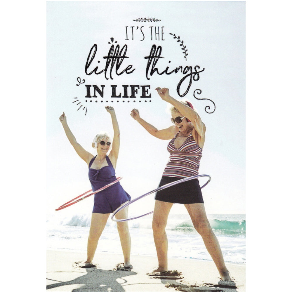 Greeting Card - Little Things in Life