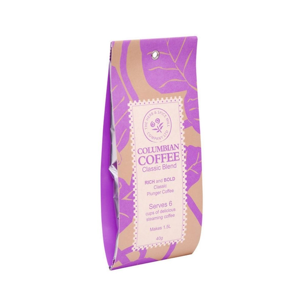 Colombian Classic Plunger Coffee Blend from Funky Gifts NZ