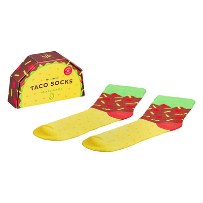 Taco socks from funky gifts nz
