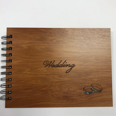 Wooden Album - Wedding