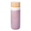 Eco Friendly Double Walled Ceramic Drink Bottle in Mauve from Funky Gifts NZ