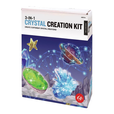 3-in-1 Crystal Creation Kit from Funky Gifts NZ