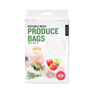 Mesh Produce Bags Three Pack from Funky Gifts NZ
