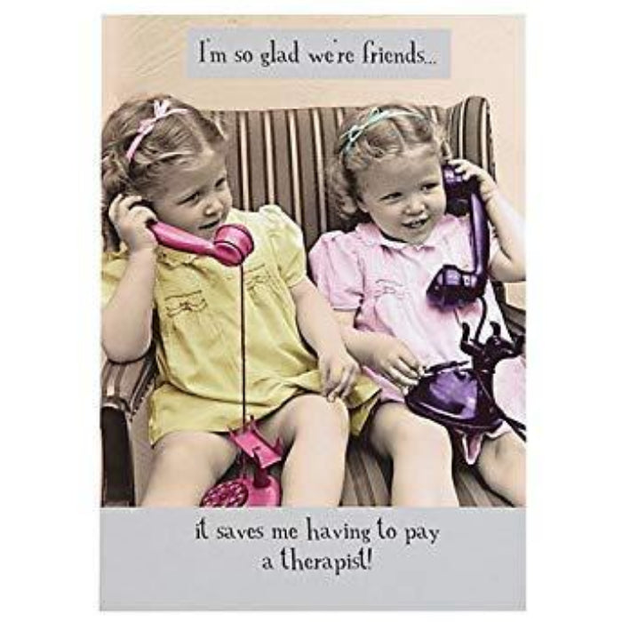 Greeting Card - I'm So Glad We're Friends