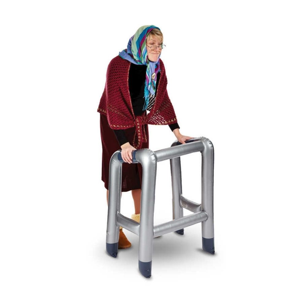 Inflatable Zimmer Frame from Funky Gifts NZ
