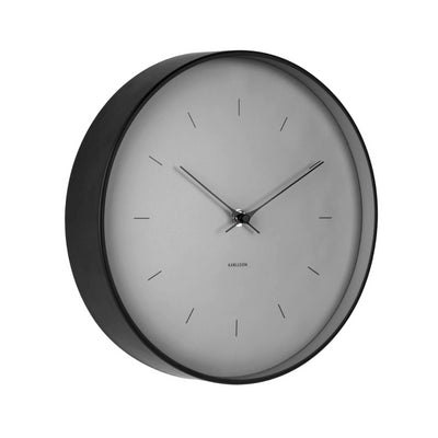 Karlsson Butterfly Medium Grey Wall Clock