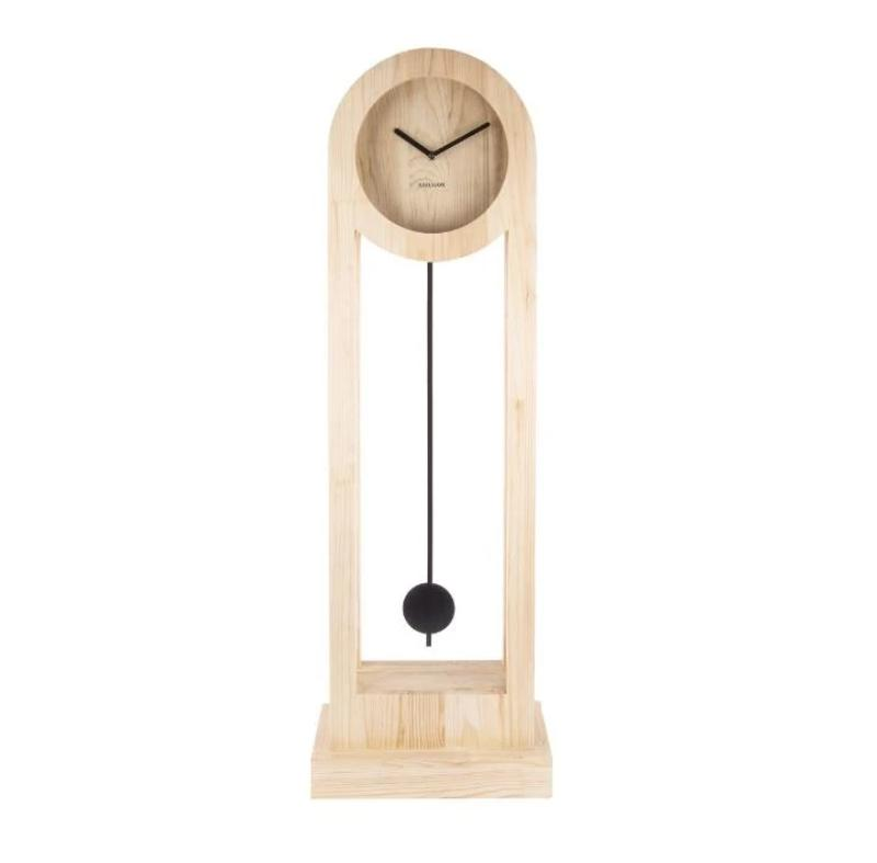 Karlsson Floor Clock Lena - Wood