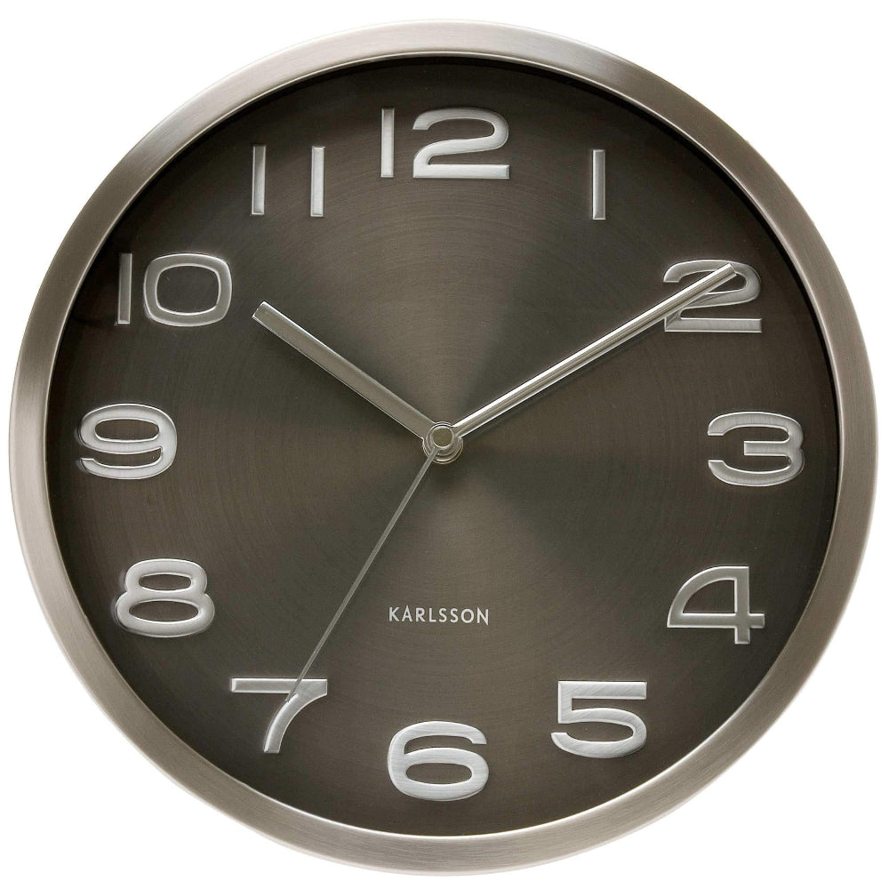 Karlsson Wall Clock Maxie - Black