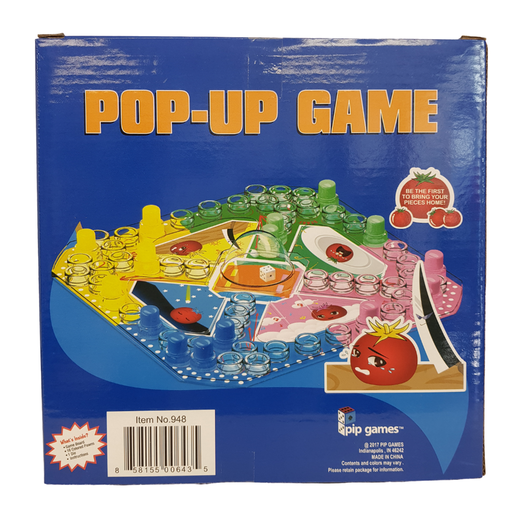 Pop Up Game from Funky Gifts NZ