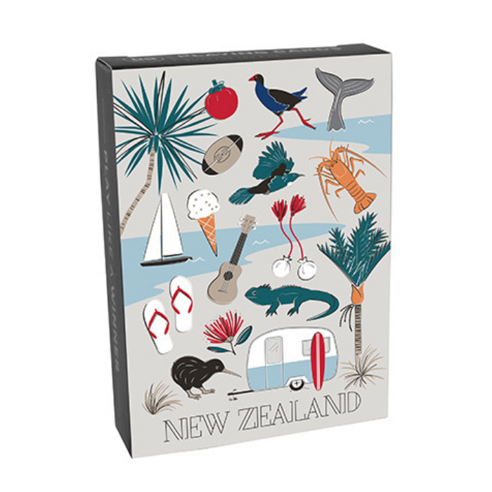 Kiwi Tours Playing Cards