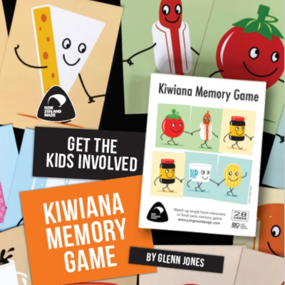 Kiwiana Memory game from funky gifts nz