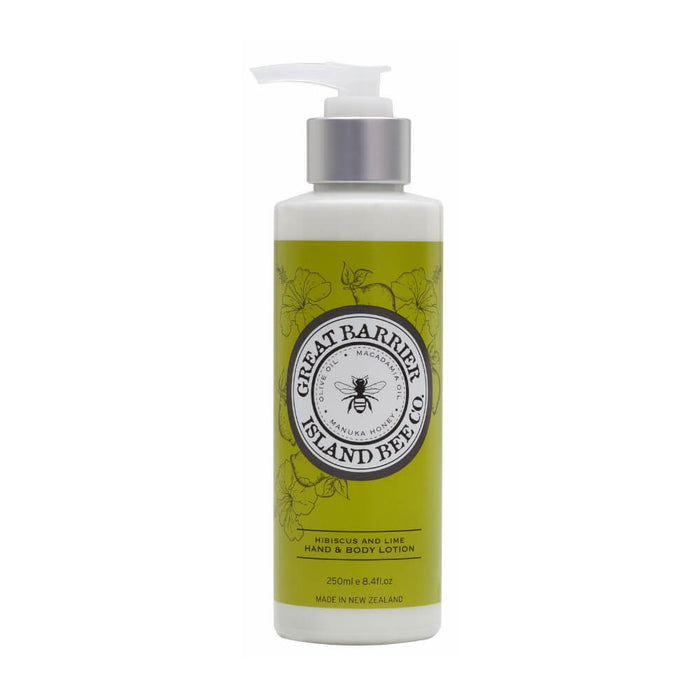 GREAT BARRIER ISLAND HAND&BODY LOTION - Hibiscus and Lime